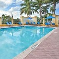 Swimming pool at Hilton Garden Inn Boca Raton