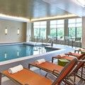 Swimming pool at Hilton Garden Inn Boston / Marlborough