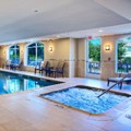 Swimming pool at Hilton Garden Inn Dfw North / Grapevine