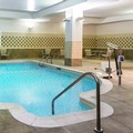 Swimming pool at Hilton Garden Inn Indianapolis Downtown