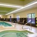 Swimming pool at Hilton Garden Inn Indianapolis Nw