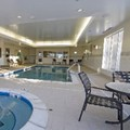 Swimming pool at Hilton Garden Inn Omaha West