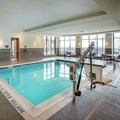 Swimming pool at Hilton Garden Inn Pittsburgh Airport South Robinson Mall