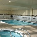 Swimming pool at Hilton Garden Inn Richmond Airport
