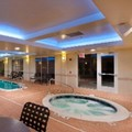 Swimming pool at Hilton Garden Inn Ridgefield Park