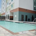 Swimming pool at Hilton Garden Inn Tampa Suncoast Parkway