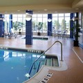Swimming pool at Hilton Garden Inn Toronto / Ajax