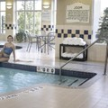 Swimming pool at Hilton Garden Inn Toronto / Burlington
