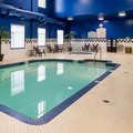 Swimming pool at Hilton Garden Inn West Edmonton