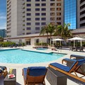 Swimming pool at Hilton Long Beach