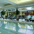 Swimming pool at Hilton Toronto / Markham Suites