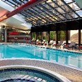 Swimming pool at Hilton Washington Dulles Hotel