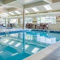 Swimming pool at Holdiay Inn Express & Suites Pullman