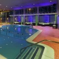 Swimming pool at Holiday Inn Boston Bunker Hill