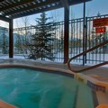 Swimming pool at Holiday Inn Canmore