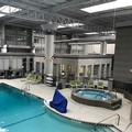 Swimming pool at Holiday Inn Chicago North Shore Skokie