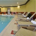 Swimming pool at Holiday Inn Dayton Fairborn