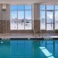 Swimming pool at Holiday Inn Detroit Livonia Conference Center
