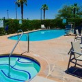 Swimming pool at Holiday Inn Express Calexico Ca.