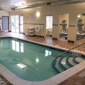 Swimming pool at Holiday Inn Express Cortland