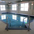 Swimming pool at Holiday Inn Express Golden Kicking Horse