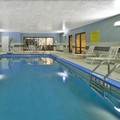 Swimming pool at Holiday Inn Express Hotel & Suites