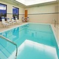Swimming pool at Holiday Inn Express Hotel & Suites Bay City