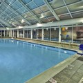 Swimming pool at Holiday Inn Express Hotel & Suites Belleville