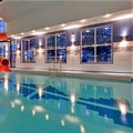 Swimming pool at Holiday Inn Express Hotel & Suites Calgary S Macleod Trail S