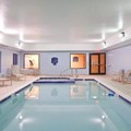 Swimming pool at Holiday Inn Express Hotel & Suites Cleveland Richfield