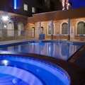Swimming pool at Holiday Inn Express Hotel & Suites Galveston West