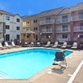 Swimming pool at Holiday Inn Express Hotel & Suites Pittsburgh Airp