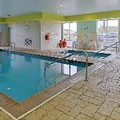 Swimming pool at Holiday Inn Express Hotel & Suites Terre Haute