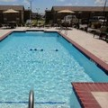 Swimming pool at Holiday Inn Express Kenedy