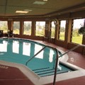 Swimming pool at Holiday Inn Express Lewisburg / New Columbia