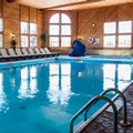 Swimming pool at Holiday Inn Express Ludington