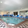 Swimming pool at Holiday Inn Express Marshall
