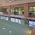 Swimming pool at Holiday Inn Express Olean