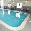 Swimming pool at Holiday Inn Express Omaha Ralston Arena