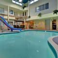 Swimming pool at Holiday Inn Express Red Deer