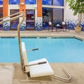 Swimming pool at Holiday Inn Express Roseburg