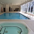 Swimming pool at Holiday Inn Express Sault Ste Marie