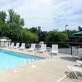 Swimming pool at Holiday Inn Express Shelby