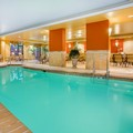 Swimming pool at Holiday Inn Express & Suites Bloomington