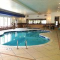 Swimming pool at Holiday Inn Express & Suites Bridgeport Clarksburg Wv