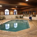 Swimming pool at Holiday Inn Express & Suites Chicago Oswego