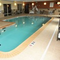 Swimming pool at Holiday Inn Express & Suites Clinton