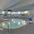 Swimming pool at Holiday Inn Express & Suites Denton Unt Twu