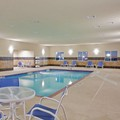 Swimming pool at Holiday Inn Express & Suites Dumas