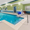 Swimming pool at Holiday Inn Express & Suites Klamath Falls Central